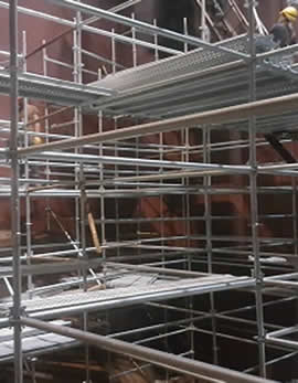 Flanged Scaffolding